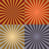 De Inzameling van de zonnestraal Stock Afbeeldingen