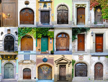 De inzameling van deuren van Duitsland royalty-vrije stock afbeeldingen