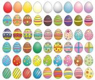 De inzameling van eieren Stock Fotografie
