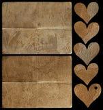 De inzameling van elementen voor plakboek Royalty-vrije Stock Fotografie