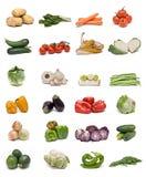 De inzameling van groenten. Royalty-vrije Stock Foto