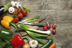 De inzameling van groenten stock fotografie