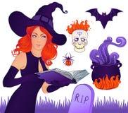 De inzameling van Halloween vector illustratie