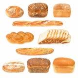 De inzameling van het brood royalty-vrije stock foto