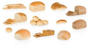 De inzameling van het brood stock afbeeldingen