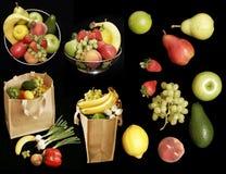 De inzameling van het Fruit Stock Afbeelding