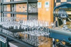 De Inzameling van het Glas van de cocktail royalty-vrije stock afbeeldingen