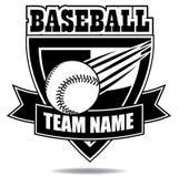 De inzameling van het het kentekenschild van het honkbalpictogram Royalty-vrije Stock Fotografie