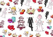 De inzameling van het huwelijk Royalty-vrije Stock Fotografie