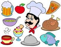 De inzameling van het menu Stock Foto's