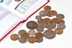 De Inzameling van het muntstuk Royalty-vrije Stock Afbeelding