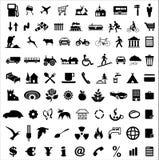 De inzameling van het pictogram stock illustratie