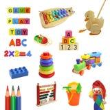De inzameling van het speelgoed Stock Afbeelding