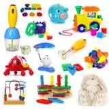 De inzameling van het speelgoed Royalty-vrije Stock Foto's