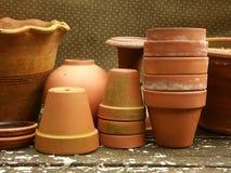 De inzameling van het terracotta Royalty-vrije Stock Foto's