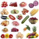 De inzameling van het voedsel Royalty-vrije Stock Afbeelding