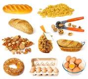 De inzameling van het voedsel Royalty-vrije Stock Fotografie