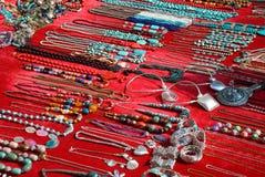 De Inzameling van juwelen Royalty-vrije Stock Foto's