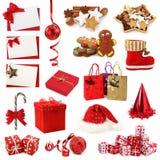 De inzameling van Kerstmis stock foto's