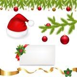 De Inzameling van Kerstmis stock illustratie