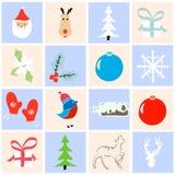 De inzameling van Kerstmis Stock Foto