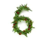 De inzameling van Kerstmisbrieven Stock Afbeelding