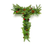 De inzameling van Kerstmisbrieven Stock Foto's
