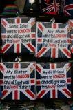De inzameling van Klassieke ` Één of andere Idiot ging naar LONDEN stock foto's