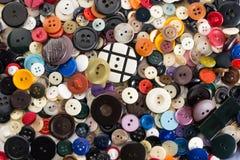 De inzameling van knopen Stock Foto