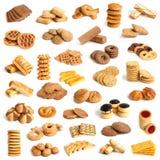 De inzameling van koekjes Stock Foto's