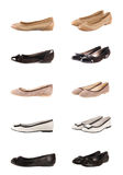 De inzameling van schoenen royalty-vrije stock afbeelding