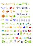 De inzameling van symbolen & van tekens - vector