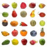De inzameling van vruchten royalty-vrije stock afbeeldingen
