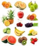De inzameling van vruchten Royalty-vrije Stock Foto's