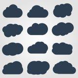 De inzameling van wolken Stock Foto's