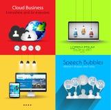 De inzamelingen van het Infographicmalplaatje met heel wat verschillende ontwerpelementen stock illustratie
