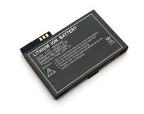 De ionenbatterij van het lithium Stock Foto