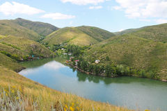 De Irtysh-rivier, Kazachstan Royalty-vrije Stock Fotografie