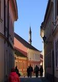 De Islamitische bouw in Hongarije van 16de eeuw stock afbeeldingen
