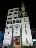 De Islamitische Centrumbouw Moslimmoskee, een plaats van vergadering Islamists voor mobbles en geestelijke ontwikkeling Moderne a royalty-vrije stock afbeelding