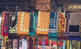 De Islamitische Winkel van de Gebeddeken Royalty-vrije Stock Afbeelding