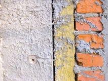 De isolatie van de hitte in de muur Royalty-vrije Stock Fotografie