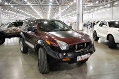 De Isuzu VehiCross-auto bij een tentoonstelling in Krokus Expo 2012 moskou Royalty-vrije Stock Afbeelding