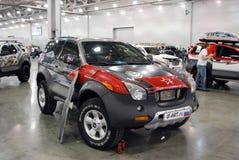 De Isuzu VehiCross-auto bij een tentoonstelling in Krokus Expo 2012 moskou Royalty-vrije Stock Foto's
