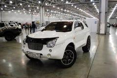 De Isuzu VehiCross-auto bij een tentoonstelling in Krokus Expo 2012 moskou Royalty-vrije Stock Afbeeldingen