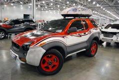 De Isuzu VehiCross-auto bij een tentoonstelling in Krokus Expo 2012 moskou Royalty-vrije Stock Fotografie