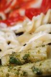 De Italiaanse Close-up van Deegwaren Royalty-vrije Stock Afbeelding