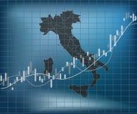 De Italiaanse Financiën en de Economie vector illustratie