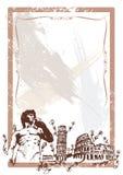 De Italiaanse illustratie van Oriëntatiepunten Royalty-vrije Stock Afbeelding