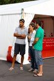 De Italiaanse Kampioenschappen van de kano en van de Kajak Stock Foto